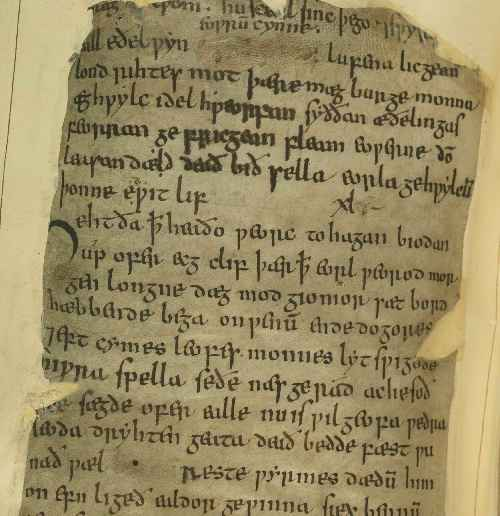 how is beowulf important to british Fulk's important work  that our sole extant version of beowulf as found in british library ms cotton vitellius a xv is a complete and relatively reliable.