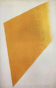 Malevich: Yellow Plane in Dissolution